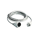 Rallonge électrique ELAMI 5000 mm Blanc