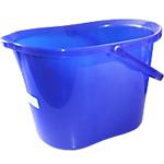 Seau rectangulaire Coronet Bleu