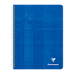 Cahier petits carreaux reliure intégrale Clairefontaine Matris A5+ Coloris aléatoire 180 Pages   90 Feuilles
