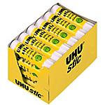 Bâton de colle UHU Jaune 8.2 g   24 Unités