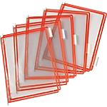 Pochettes à pivot pour pupitre incliné Tarifold Rouge   10 Unités