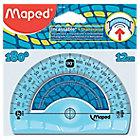 Rapporteur 180° Maped Plastique 12 cm