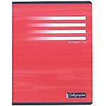 Cahier Calligraphe 17 x 22 cm    petits carreaux   96 pages 70g piqué   Coloris assortis