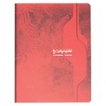 Cahier piqué Calligraphe Piqué grands carreaux A5+ Quadrillé Assortiment   47 Feuilles