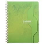 Cahier petits carreaux reliure intégrale Calligraphe Ligne 7000 A5 Coloris aléatoire 180 Pages   90 Feuilles