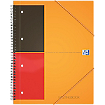 Cahier à spirale OXFORD International A4+ Ligné Assortiment   80 Feuilles