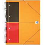 Cahier ligné reliure intégrale OXFORD International A4+ Ligné 4 Perforations 160 Pages   80 Feuilles