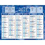 Calendrier semestriel Bouchut 2021 13,5 x 17,5 cm