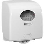 Distributeur pour essuie mains en rouleaux AQUARIUS Slimroll 29,7 x 19,2 x 32,4 cm Blanc