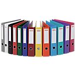 Classeur à levier Office Depot Plasticolor 80 mm Carton 2 Anneaux A4 Assortiment 10 Unités