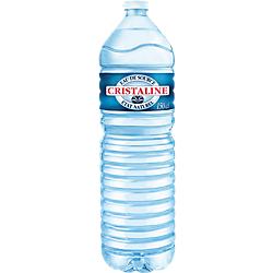 Eau minérale Non aromatisé Cristaline 1.5 - 6 Bouteilles de 1.5 L