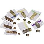 Tubes plastique 50 cents 2 euros   5000 Unités