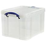 Boîte de rangement Really Useful Boxes 35 35 litres 48 x 39 x 31 cm Transparent