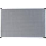 Tableau liège magnétique Bi Office Gris 90 x 60 cm