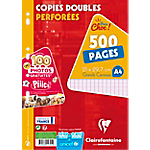 Copies doubles Clairefontaine A4