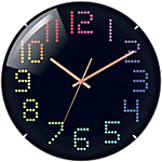 TechnoLine Horloge WT 7410 31 x 3 cm Noir