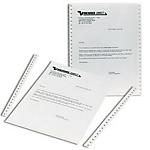 Papier listing Blanc Niceday 330 (H) x 216 (l) mm   2000 Feuilles