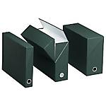 Boîtes transfert classique Exacompta 89726E 25,5 x 9 x 9 cm Vert 5 Unités