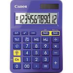 Calculatrice de bureau Canon LS 123K 12 Chiffres Violet