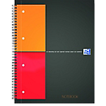 Cahier petits carreaux reliure intégrale OXFORD International A4+ 4 Perforations 160 Pages   80 Feuilles