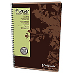 Cahier à spirale Clairefontaine Forever Calligraphe A4 5 x 5 Assortiment   50 Feuilles