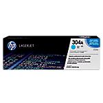Toner HP D'origine 304A Cyan CC531A