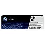 Toner HP D'origine 43X Noir C8543X