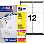 Étiquettes d'adresses Avery L7177 Blanc 99,1 x 42,3 mm 1200 Unités