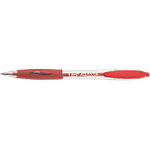 Stylo bille rétractable BIC Atlantis 0.4 mm Rouge   12 Unités