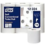 Papier toilette Tork Premium  2 épaisseurs   42 Rouleaux de 396 Feuilles