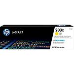 Toner HP D'origine 203X Jaune CF542X