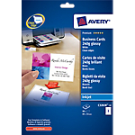 Cartes de visite Avery Quick and Clean 240 g