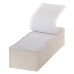 Étiquettes Office Depot Blanc 89 x 36 mm 4000 Feuilles