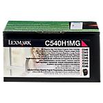 Toner C540H1MG D'origine Lexmark Magenta Magenta