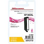 Cartouche jet d'encre Office Depot Compatible HP 903XL Magenta T6M07AE