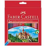 Crayons de couleur Faber Castell 111224   24 Unités
