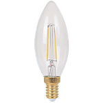 Ampoule LED à filament flamme Ariane Lighting E14 4 W Blanc chaud