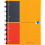 Cahier OXFORD International A4+ Ligné Orange   80 Feuilles