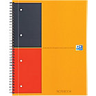 Cahier OXFORD International A4+ Ligné Orange   80 Feuilles