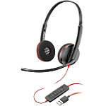 Micro casque Plantronics Blackwire Blackwire C3220 USB A