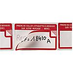 Étiquettes APLI Blanc 50 x 100 mm 500 Unités
