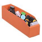 Bac à bec 2 Viso 9 x 28 x 10 cm Orange   25 Unités