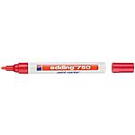 Marqueur peinture edding e750 Ogive Rouge