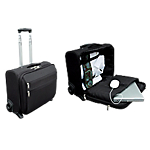 Trolley PC Portable Polyester 1200D Traveler 43 x 33 x 21,8 cm Noir