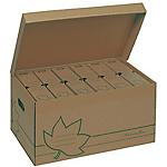 Conteneur + 6 boîtes archives Dos 80mm   Fast   Nature Line