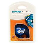 Étiquettes DYMO 12 mm x 4 m Noir sur blanc