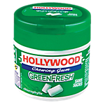 Chewing gum Hollywood Green Fresh   60 Unités