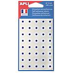 Pochette d'œillets APLI Blanc   240 Unités