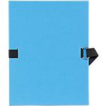 Chemise à sangle Exacompta Bleu clair 5 Unités