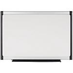 Tableau blanc Bi Office Provision Acier Laqué Magnétique 120 x 90 cm